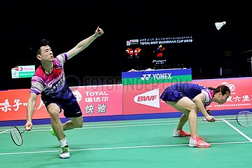 (SP)CHINA-NANNING-BADMINTON-SUDIRMAN CUP 2019(CN)