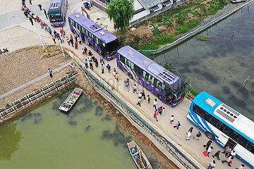 #CHINA-JIANGSU-HUAI'AN-FLOOD EVACUATION DRILL (CN)
