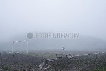 (SP)CHINA-SICHUAN-LIANGSHAN-FOOTBALL (CN) (??)???????????