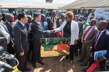 ZAMBIA-Chongwe-CHINA-DORF TV PROJECT