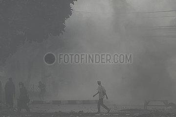 INDONESIEN-JAKARTA-PR?SIDENTSCHAFTSWAHL-CLASH