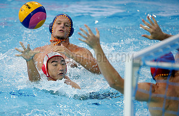 (SP)SERBIA-BELGRADE-WATER POLO-JAPAN VS SPAIN