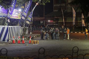 INDONESIA-SOLO-SUICIDE BOMBING-ATTACK