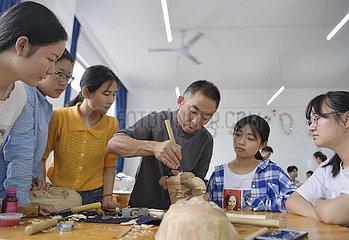 #CHINA-HUBEI-NUO OPERA-MASK MAKING (CN)