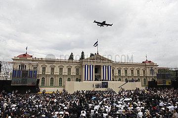 EL SALVADOR-SAN SALVADOR-NEW PRESIDENT-INAUGURATION EL SALVADOR-SAN SALVADOR-TRASPASO PRESIDENCIAL
