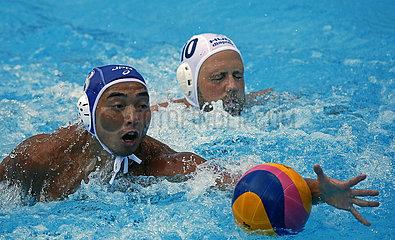 (SP)SERBIA-BELGRADE-WATER POLO-HUNGARY VS JAPAN