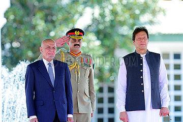 PAKISTAN-ISLAMABAD-afghanischer Präsident-VISIT pakistanisch-ISLAMABAD-afghanischer Präsident-VISIT pakistanisch-ISLAMABAD-afghanischer Präsident-VISIT