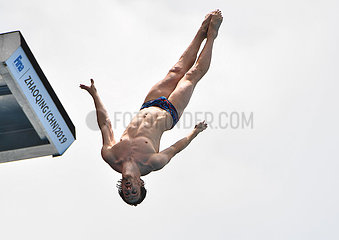 (SP)CHINA-GUANGDONG-HIGH DIVE-WORLD CUP