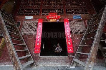 #CHINA-CHONGQING-TUJIA-VILLAGE(CN)