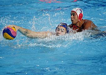 (SP)SERBIA-BELGRADE-WATER POLO-JAPAN VS SPAIN