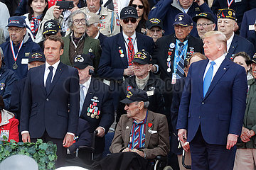 FRANCE-NORMANDY-D-DAY COMMEMORATION 75th anniversary of D-Day landings