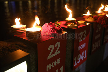 RUSSIA-MOSCOW-DAY OF MEMORY AND SORROW