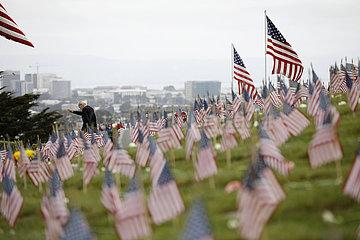 US-SAN FRANCISCO-VOLKSTRAUERTAG-GEDENKEN