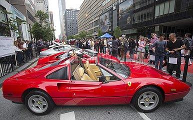 CANADA-TORONTO-EXOTIC CAR SHOW