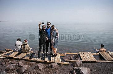 IRAN-URIMA LAKE-ENVIRONMENT-WATER