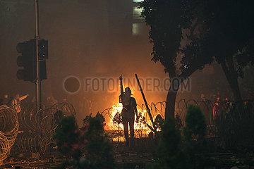 INDONESIEN-JAKARTA-WAHL-VIOLENT DEMONSTRATION