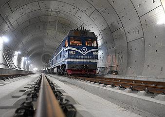 CHINA-BEIJING-ZHANGJIAKOU HIGH-SPEED RAILWAY-WHOLE LENGTH-FINISH (CN)