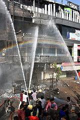 INDIEN-GUJARAT-FIRE