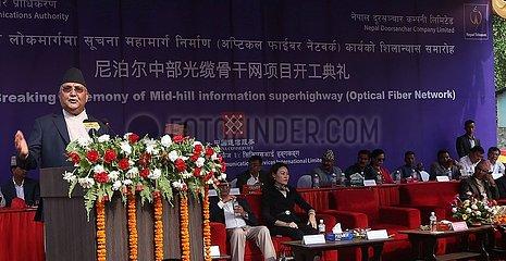 NEPAL-DHADING-OPTICAL FIBERS-LAYING