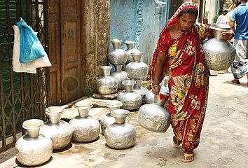 BANGLADESH-DHAKA-WATER SCARCITY