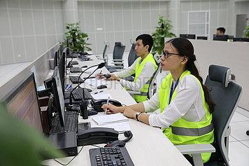 VIETNAM-HANOI-URBAN BAHN-OPERATIONAL DRILL