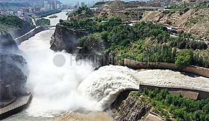 # CHINA-GANSU-Liujiaxia RESERVOIR-SAND WASHING (CN)