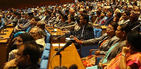 NEPAL-KATHMANDU-Regierung Nepals-Haushaltsjahr 2019/2020