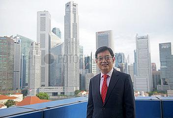 SINGAPUR-DEPUTY PM-INTERVIEW