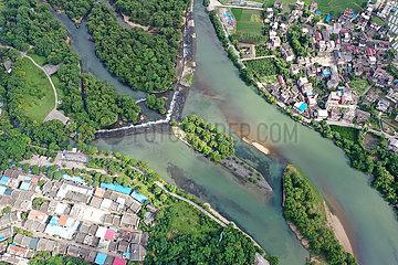 CHINA-GUANGXI-Lingqu-Kanal (CN)