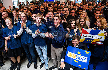 DEUTSCHLAND-BERLIN-EU-PARLAMENT WAHLEN CDU / CSU  Politik  Europawahl in Deutschland  Berlin