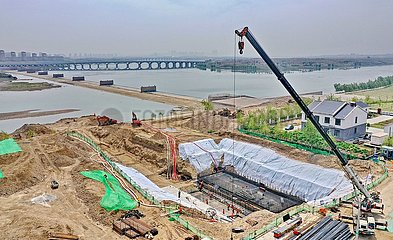 CHINA-HEBEI-RIVER-ENVIRONMENT(CN)