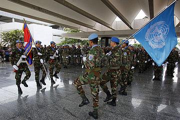 KAMBODSCHA-PHNOM PENH-UN-Friedensmission-MALI