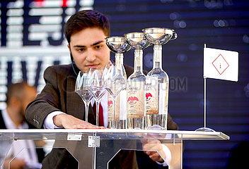 CZECH REPUBLIC-PRAGUE-NON-ALCOHOLIC COCKTAIL CONTEST