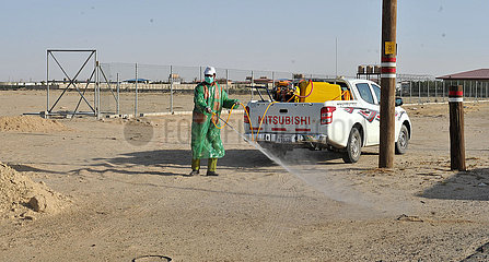KUWAIT-AHMADI GOVERNORATE-LOCUSTS-PESTICIDE SPRAYING CAMPAIGN