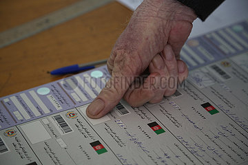 AFGHANISTAN-KABUL-VOTER REGISTRATION-UPCOMING PRESIDENTIAL ELECTION