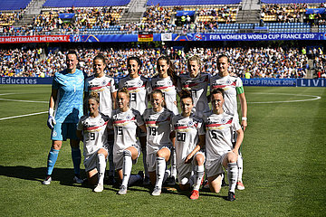 (SP)FRANCE-MONTPELLIER-2019 FIFA WOMEN'S WORLD CUP-GROUP B-GERMANY VS SOUTH AFRICA (?????)(cyc)??——B?:???????