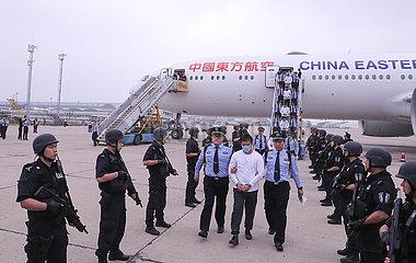 CHINA-BEIJING-TELECOM FRAUD SUSPECTS (CN) ?????d?y????g??????????????????????