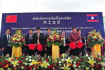 LAOS-VIENTIANE-MINISTRY-INFORMATION SYSTEM-CHINA-AID