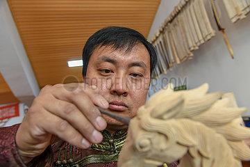 CHINA-JILIN-HORSE HEAD FIDDLE-INHERITOR (CN)