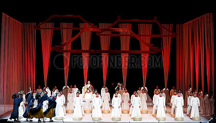 U.S.-LOS ANGELES-CHINESE OPERA-PERFORMANCE ??????«????»??????