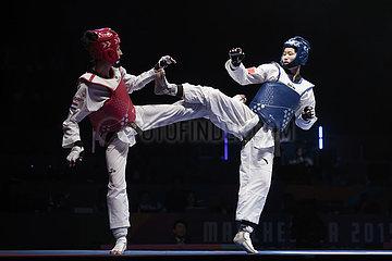 (SP) BRITAIN-MANCHESTER-TAEKWONDO-WORLD CHAMPIONSHIP-DAY 3 (??)(1)???——????????