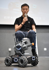 CHINA-BEIJING-DJI-EDUCATIONAL ROBOT-EVENT(CN)
