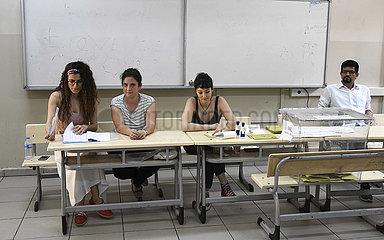 TURKEY-ISTANBUL-MAYORAL ELECTION-VOTING (CN)