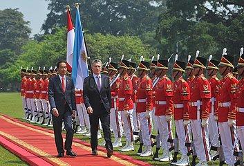 INDONESIA-BOGOR-ARGENTINE PRESIDENT-VISIT