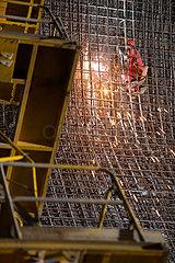 CHINA-WUDONGDE WASSERKRAFTWERK-CONSTRUCTION (CN) CHINA-WUDONGDE WASSERKRAFTWERK-CONSTRUCTION (CN) CHINA-WUDONGDE WASSERKRAFTWERK-CONSTRUCTION (CN)