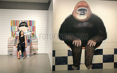 CHINA-BEIJING-ANTHONY BROWNE'S HAPPY MUSEUM-EXHIBITION (CN)