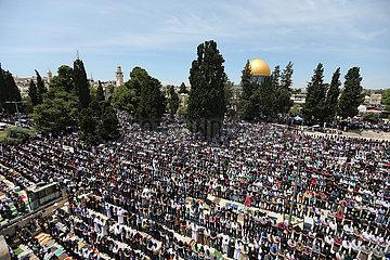 MIDEAST-JERUSALEM-RAMADAN