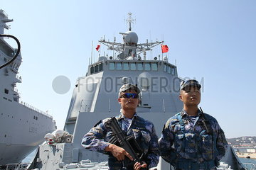 FRANCE-TOULON-CHINESE NAVY-VISIT