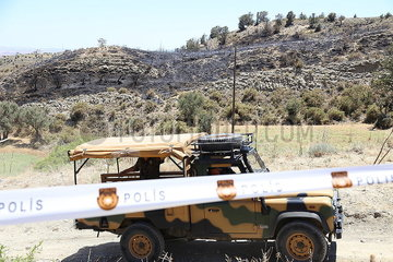 CYPRUS-NICOSIA-ANTI-AIRCRAFT MISSILE-CRASH