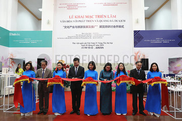 VIETNAM-HANOI-CHINA-KULTUR TOURISMUS-AUSSTELLUNG-OPENING